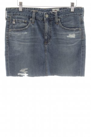 "Adriano Goldschmied Denim Skirt ""The Erin"" steel blue"