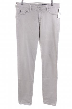 Adriano Goldschmied Jeggings light grey simple style