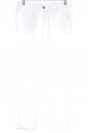 Adriano Goldschmied Linen Pants white casual look