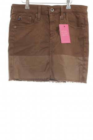 Adriano Goldschmied Miniskirt bronze-colored casual look