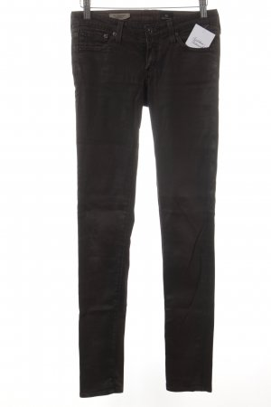 Adriano Goldschmied Drainpipe Trousers dark brown casual look