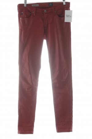 Adriano Goldschmied Drainpipe Trousers brick red casual look