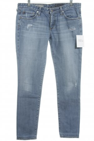 Adriano Goldschmied Tube Jeans pale blue casual look