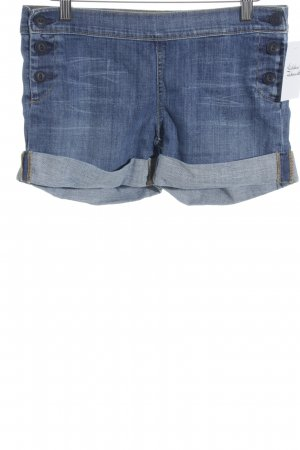 Adriano Goldschmied Shorts hellblau Casual-Look