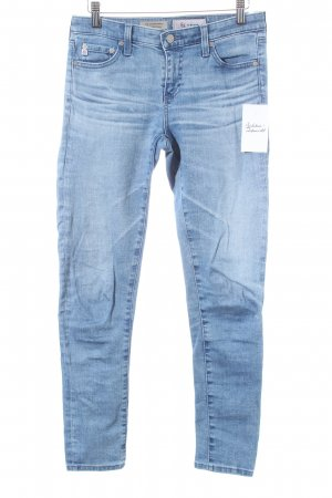 Adriano Goldschmied Skinny Jeans babyblau Washed-Optik