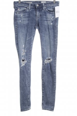Adriano Goldschmied Skinny Jeans blau Casual-Look
