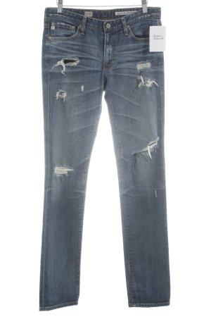 Adriano Goldschmied Skinny Jeans blau Urban-Look