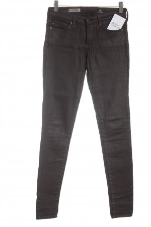 Adriano Goldschmied Skinny Jeans brown violet casual look