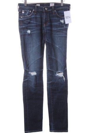 "Adriano Goldschmied Skinny Jeans ""Cigarette Leg"" blau"