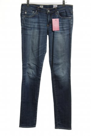 Adriano Goldschmied Skinny Jeans dunkelblau Casual-Look