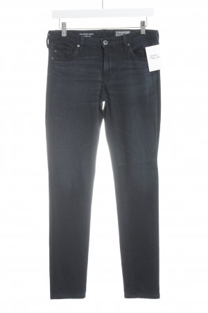 Adriano Goldschmied Skinny Jeans dunkelblau Street-Fashion-Look
