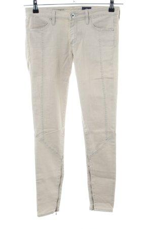 Adriano Goldschmied Jeans skinny bianco sporco stile casual