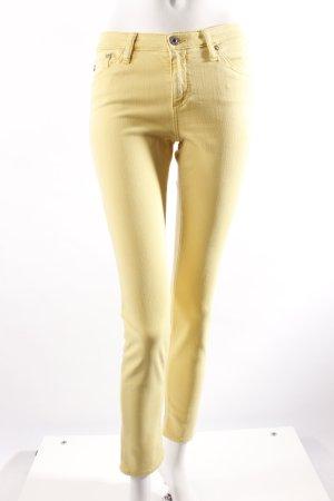 Adriano Goldschmied Skinny Jeans gelb
