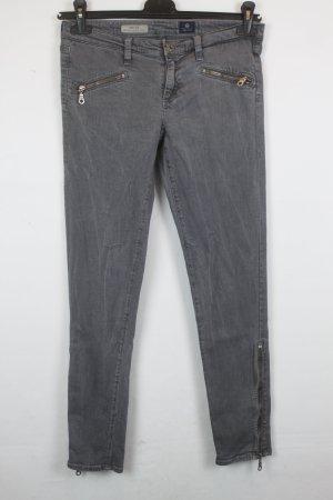 Adriano Goldschmied Skinny Jeans Gr. 28 grey denim