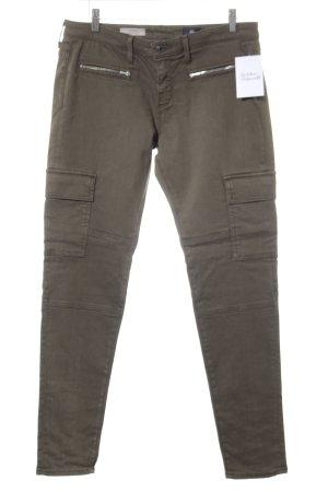 Adriano Goldschmied Skinny Jeans grüngrau Casual-Look