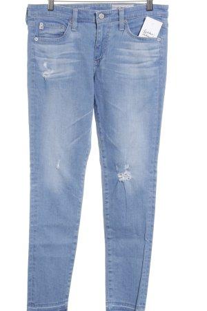 Adriano Goldschmied Skinny Jeans hellblau Casual-Look
