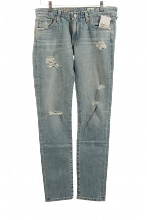 Adriano Goldschmied Skinny Jeans light blue distressed style
