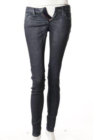 Adriano Goldschmied Skinny Jeans schwarz-metallic