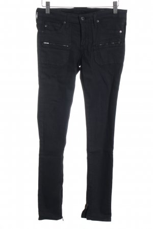 Adriano Goldschmied Skinny Jeans black street-fashion look