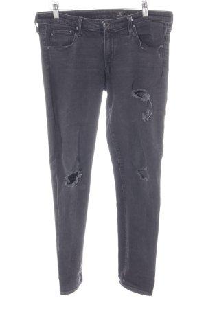 Adriano Goldschmied Skinny Jeans schwarz Urban-Look