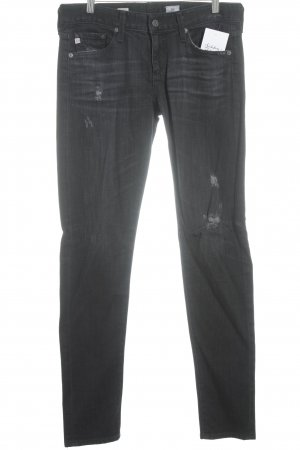 Adriano Goldschmied Jeans skinny noir style seconde main