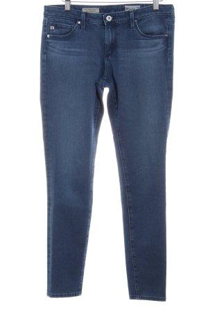 Adriano Goldschmied Skinny Jeans stahlblau Casual-Look
