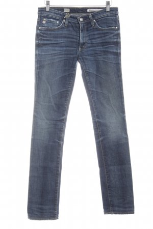 Adriano Goldschmied Skinny Jeans steel blue jeans look