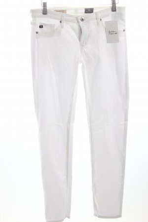 Adriano Goldschmied Skinny Jeans weiß klassischer Stil