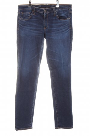 Adriano Goldschmied Slim Jeans blau Casual-Look