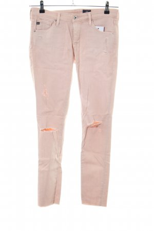 Adriano Goldschmied Slim Jeans pink casual look