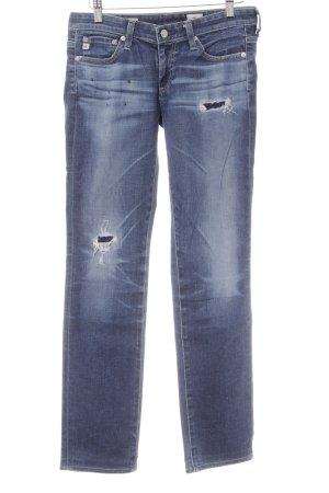 Adriano Goldschmied Slim Jeans dunkelblau-blau Casual-Look