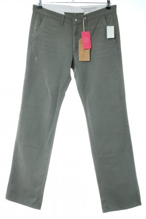 Adriano Goldschmied Straight Leg Jeans khaki business style