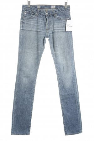 Adriano Goldschmied Straight Leg Jeans blue jeans look