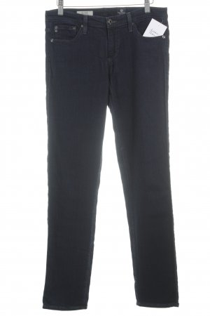 Adriano Goldschmied Straight-Leg Jeans dunkelblau Casual-Look
