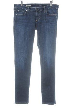 Adriano Goldschmied Jeans met rechte pijpen donkerblauw straat-mode uitstraling