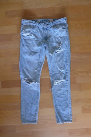 Adrianp Goldschmied Jeans Stilt Crop Cigarette Skinny destroyed Gr. 25 XS