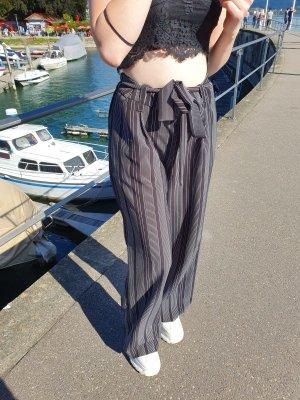 Adrienne Vittadini Jersey Pants white-black
