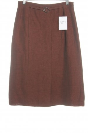 ae elegance Pencil Skirt russet casual look
