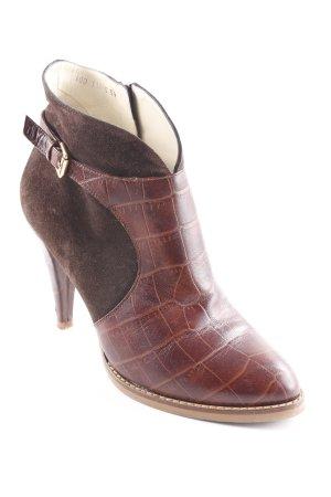 ae elegance Stivaletto marrone-marrone scuro modello tartaruga
