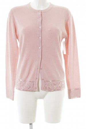 ae elegance Cardigan pink-rose-gold-coloured casual look