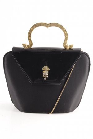 ae elegance Bolso negro-color oro elegante