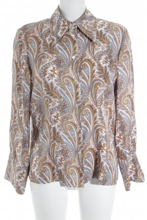 ae elegance Shirt Blouse paisley pattern business style