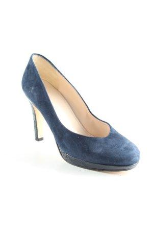 ae elegance Hoge hakken donkerblauw elegant