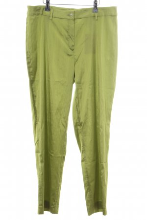 ae elegance Low-Rise Trousers green wet-look