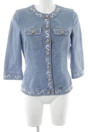 ae elegance Denim Jacket azure casual look
