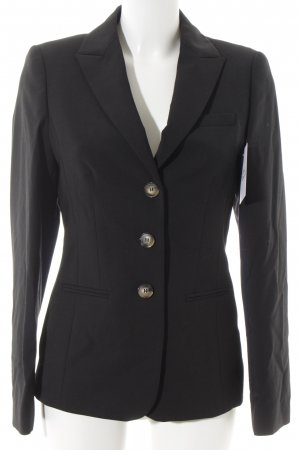 ae elegance Korte blazer zwart zakelijke stijl