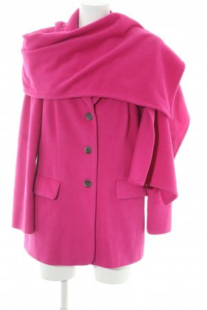 ae elegance Short Coat magenta fluffy