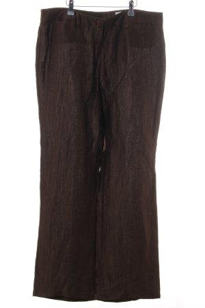 ae elegance Linnen broek bruin casual uitstraling