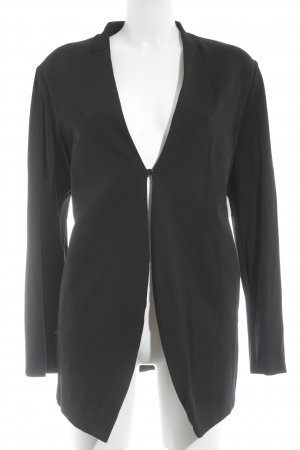 ae elegance Long-Blazer schwarz Casual-Look