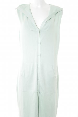 ae elegance Long Knitted Vest sage green casual look